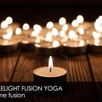 Candle yoga with John