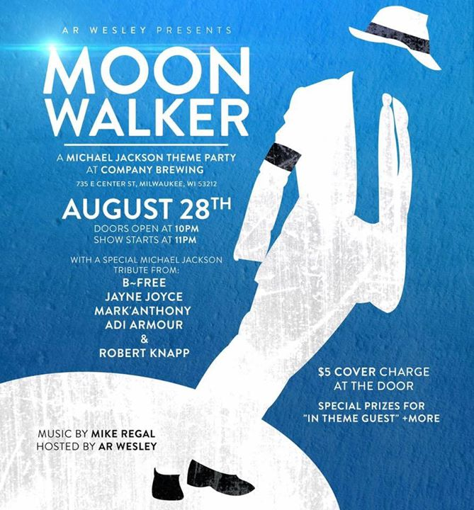 AR Wesley Presents: Moonwalker - A Michael Jackson Themed Party at ...
