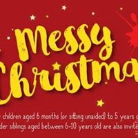 Messy Play Andover (PM) - Messy Christmas
