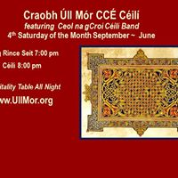 Ceol na gCro Cil Band at Monthly Cil