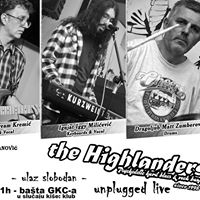 Unplugged Live The Highlanders