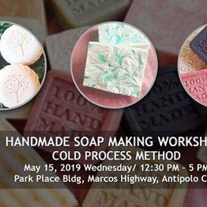 Handmade Soap Making Workshop  Cold Process Method