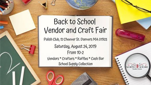 Back to School Vendor and Craft Fair Fundraiser