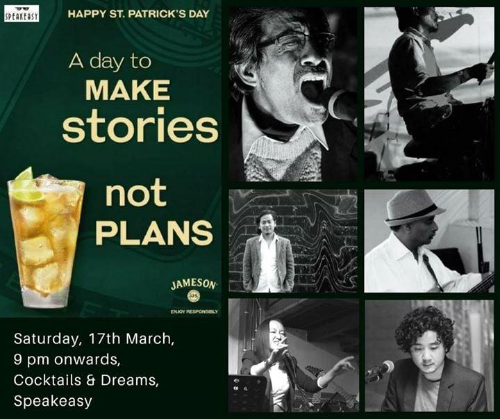 St. Patricks Day with Ghetto Chilldren Live - 17th March