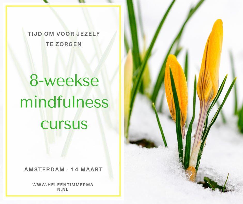 kennismakingsgesprek voor de 8-weekse mindfulnesscursus die start op 14 maart