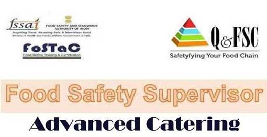 FoSTaC: Advanced Catering - Food Safety Supervisor Training