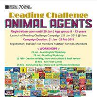 Reading Challenge Animal Agents