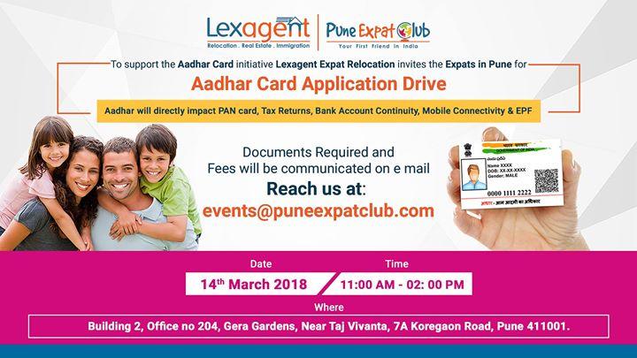 Aadhaar Card Application Drive