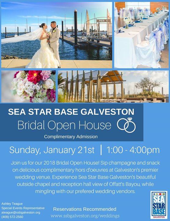 Bridal Open House At Sea Star Base Galveston Galveston