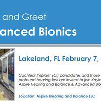 Advanced Bionics Cochlear Implant Meet and Greet