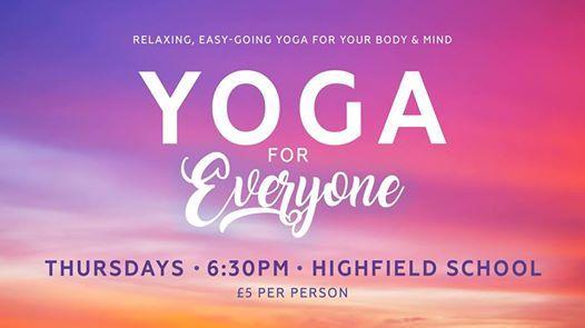 Yoga for Everyone Blackpool (Highfield School)