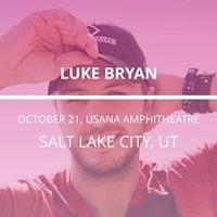 Luke Bryan in West Valley City