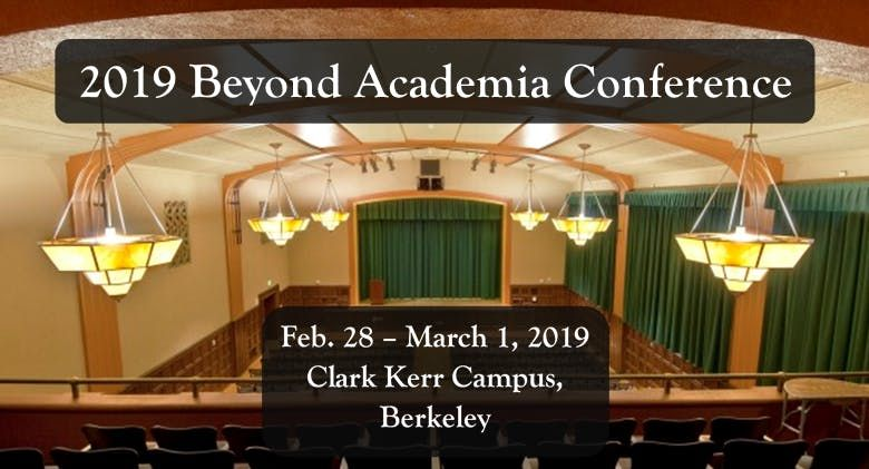 2019 Beyond Academia Conference