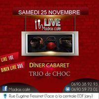 trange Trio Cabaret live