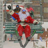 Ski &amp Photos with Santa