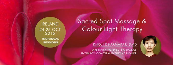Sacred Spot Massage & Colour Light Therapy - Khoji, tantra