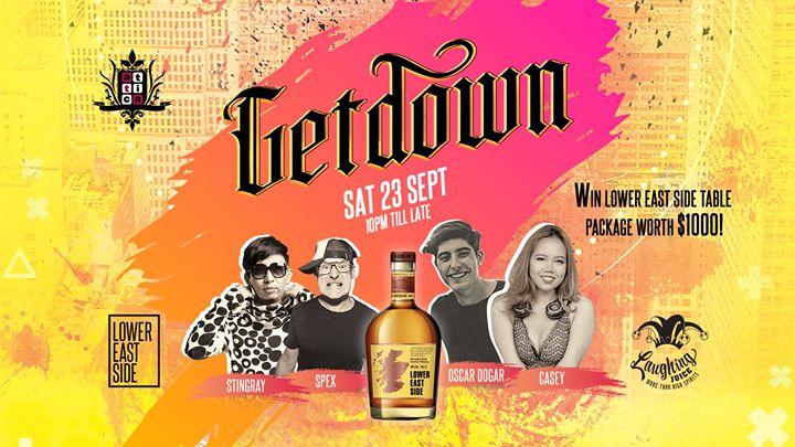 Getdown Sat 23 Sept