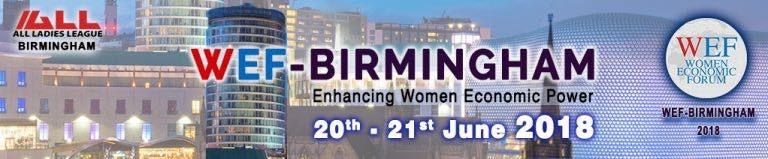 WEF-Birmingham Conference