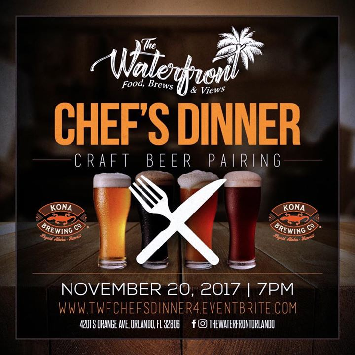 Dinner & Craft Beer Pairing At The Waterfront