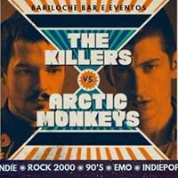 02dez Eu quero Indie Entrada R5 Arctic Monkeys x The Killers