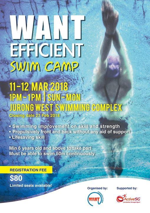 Want Efficient Swim Camp