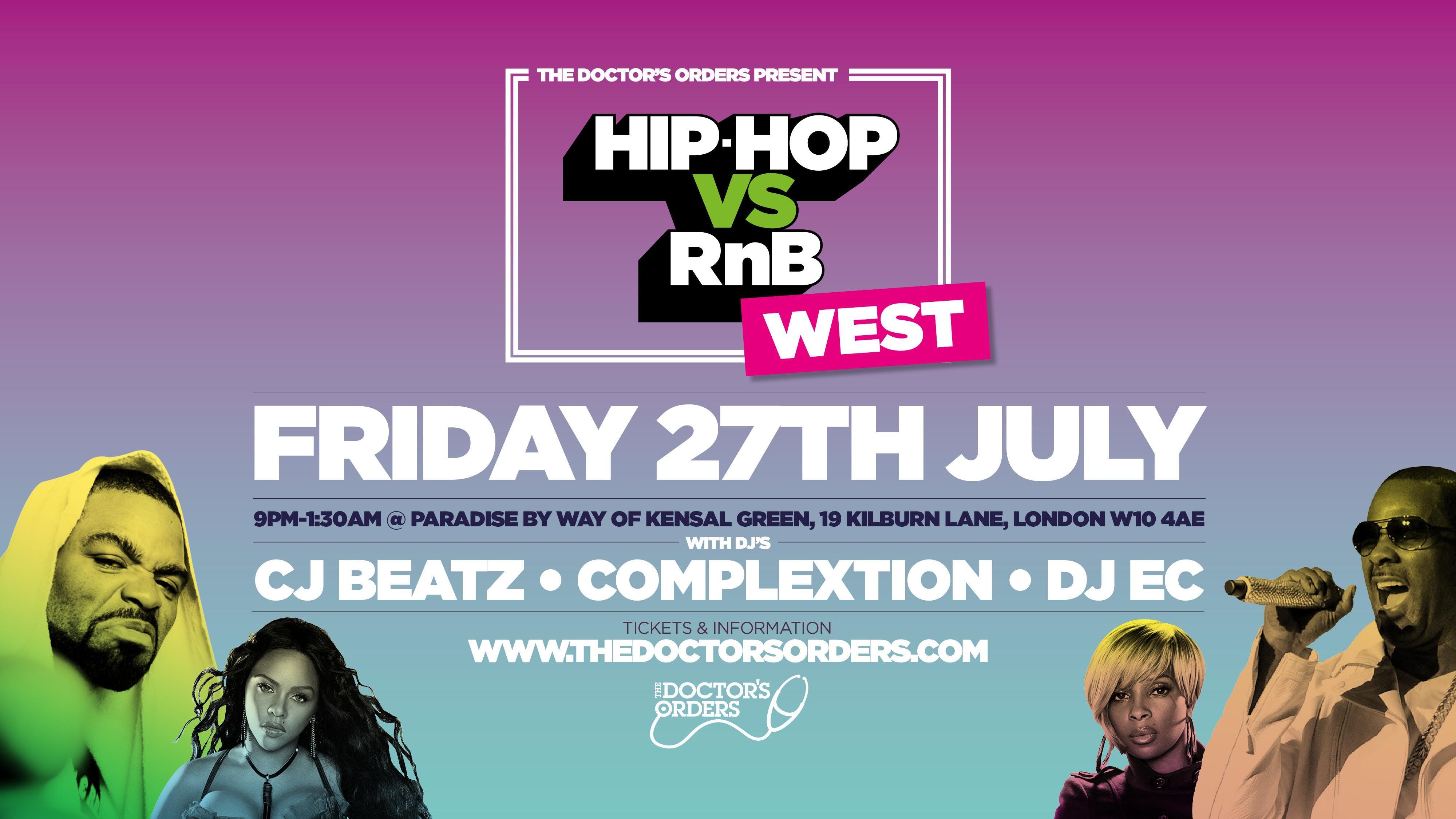 Hip-Hop vs RnB - Westside