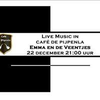 Live Muziek met Emma en de Veentjes