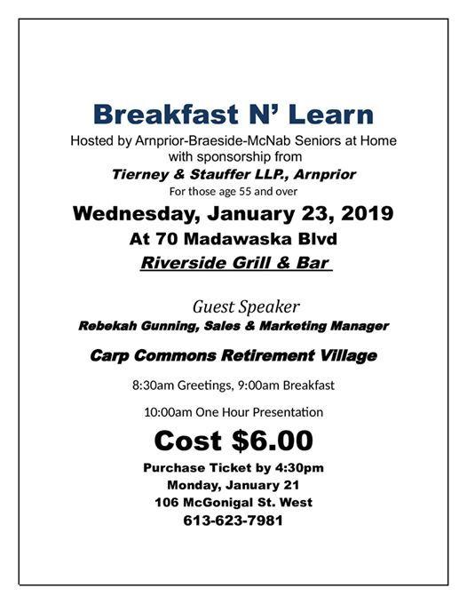 Breakfast N Learn