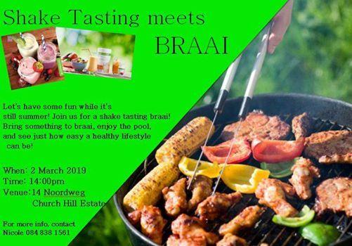 Shake Tasting meets Braai