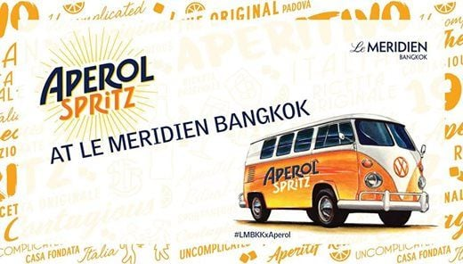 Aperol Spritz Bar LMBKKxAperol (April)