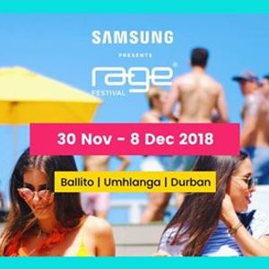 Samsung Presents Rage Festival 2018