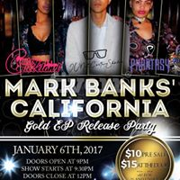 Mark Banks California GOLD EP Release Party