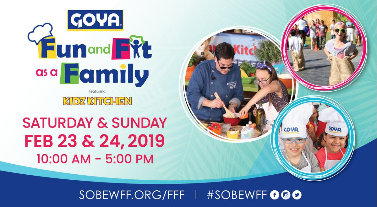 Goya Foods Fun and Fit as a Family featuring Kidz Kitchen  Jungle Island
