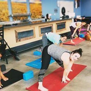 Yoga & Beer at Bent Barley