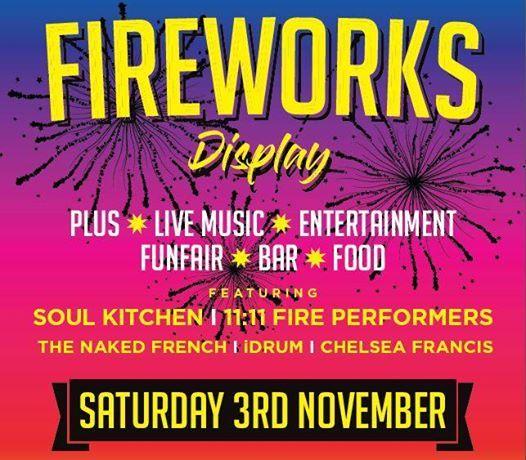 Christchurch Park Fireworks 2018