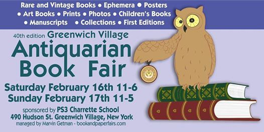 Greenwich Village Antiquqrian Book & Ephemera Fair