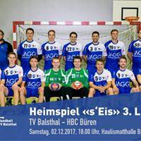 Heimspielrunde Handball TV Balsthal
