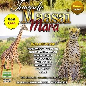 Twende Maasai Mara 8800 Offer