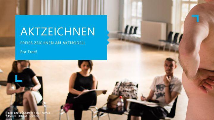 Montags kostenloses Aktzeichnen at Freiraum im Studentenhaus, Berlin