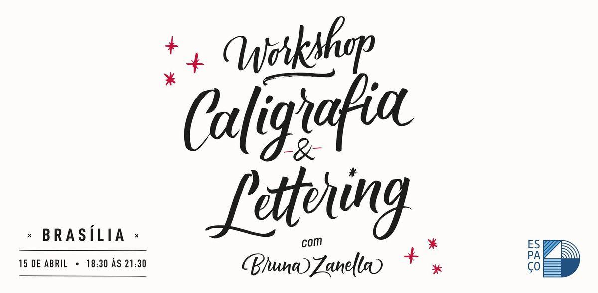 Workshop de Caligrafia e Lettering com Bruna Zanella  15 de Abril