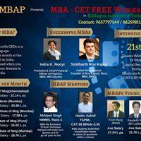 MBA CET FREE WORKSHOP