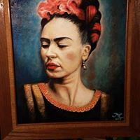 I paint myself by Frida Kahlo