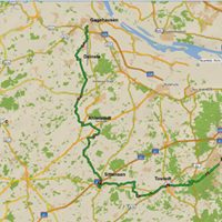 Radwanderung                                                             85 km