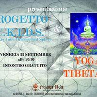 Presentazione Progetto Ukyds e Yoga Tibetano