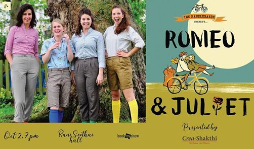 The Handlebards Present Romeo And Juliet