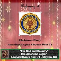 American Legion Post 71 Christmas Party