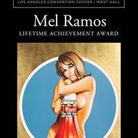L.A. Art Show 2017 - Mel Ramos Lifetime Achievement Award