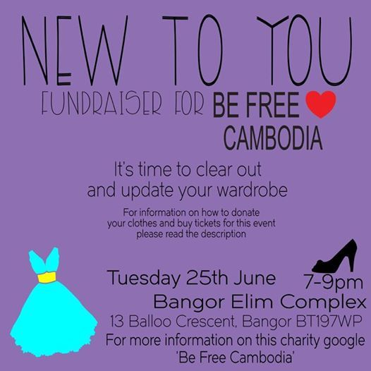 New To You (BEFree Cambodia Fundraiser)