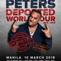Deported World Tour Russell Peters Live in Manila 2018