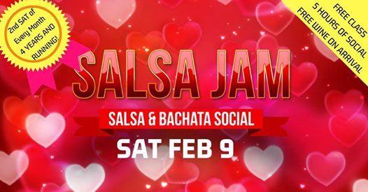 Salsa Jam Valentines Edition